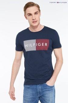 Tommy Hilfiger Branded Flag T-Shirt