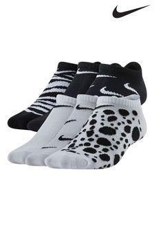 Nike Kids Everyday Lightweight 6 Pack No Show Socks