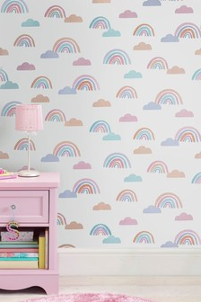 Paste the Paper Dreaming of Rainbows Wallpaper