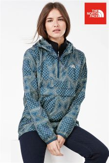 The North Face® Blue Fanorak Pullover