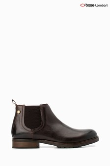 Base London® Brown Quarry Pull-On Chelsea Boots