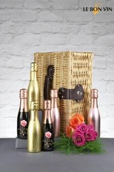 Le Bon Vin Mini Prosecco Fizz Gift Hamper