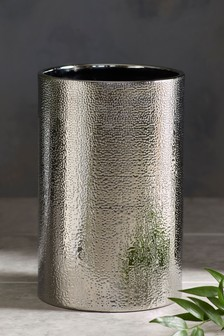 Ceramic Hammered Bin