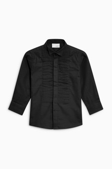 Long Sleeve Wing Collar Shirt (12mths-16yrs)