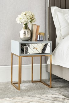 Kirah 1 Drawer Bedside Table