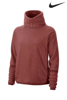 Nike Therma Cozy Fleece Cowl Neck Crew