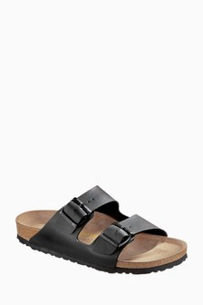 Birkenstock® Black Arizona Sandal