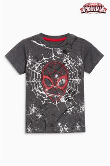 Embossed Spider-Man™ Long Sleeve T-Shirt (3mths-6yrs)