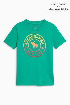 Abercrombie & Fitch Moose Logo Tee