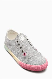 Laceless Trainers (Younger Girls)