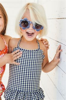 Gingham Skirted Swimsuit (3mths-6yrs)