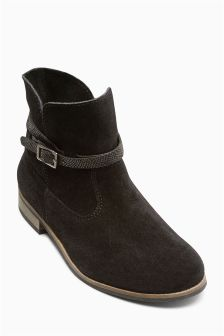 Slouch Ankle Boots (Older Girls)