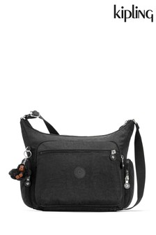 Kipling Black Gabbie Medium Shoulder Bag