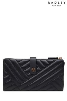Radley Black Larkswood Quilt Large Folded Matinee