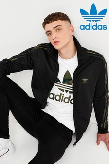 adidas Originals Black Camo Track Top