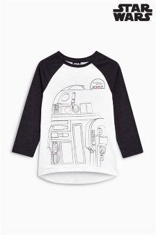 R2D2 Long Sleeve T-Shirt (3-14yrs)