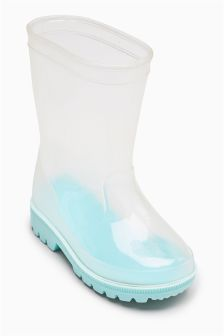 Clear Wellies (Younger)