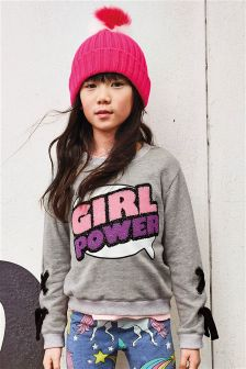 Girl Power Sweater (3-16yrs)