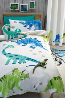 Ben The Dino Duvet Cover and Pillowcase Set
