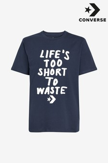 Converse Renew Life's Too Short T-Shirt