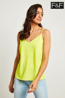 F&F Lime Cross Back Cami