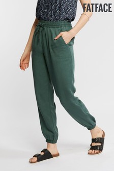 FatFace Green Lyme Cuffed Trouser
