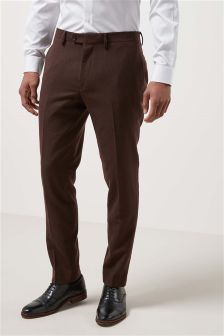 Flannel Suit: Trousers