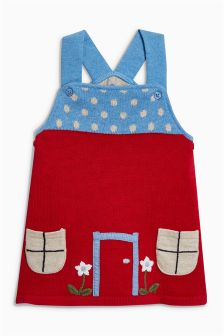 Knitted Pinafore (0mths-2yrs)