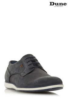 Dune London Blue Casual Gibson Shoe