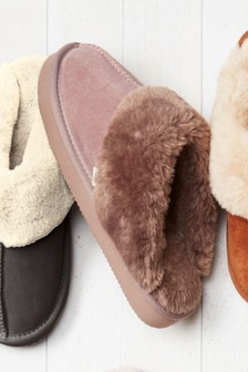 Womens Slippers Mules Ballerina Amp Faux Fur Slippers
