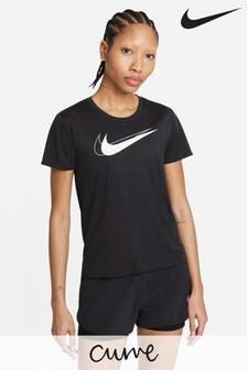 Nike Curve Swoosh Running Top