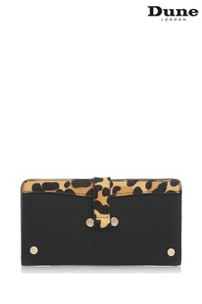 Dune London Leopard Kependria D Hardware Slimline Purse