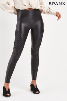 SPANX® Medium Control Black Mono Legging