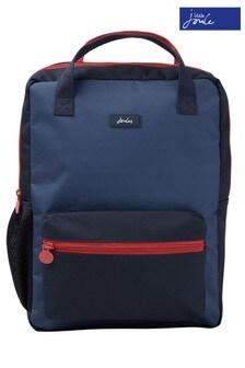 Joules Blue Easton Printed Backpack