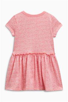 Платье с короткими рукавами и оборками (3 мес.-6 лет)