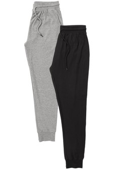Jersey Cuffed Pyjama Bottoms Two Pack