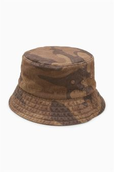 Camo Bucket Hat (Younger)
