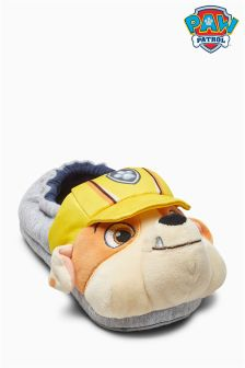 3D Rubble Paw Patrol Slippers (Younger)