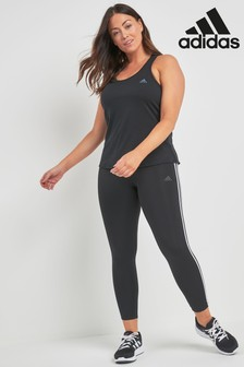 adidas Black 3 Stripe Tight