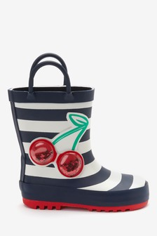 Cherry Handle Wellies (Younger)