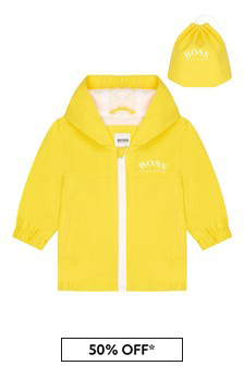 BOSS Baby Boys Yellow Jacket