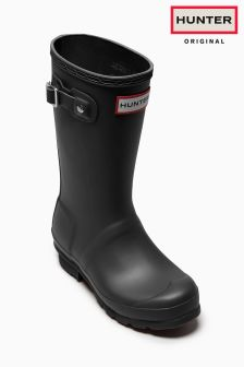 Hunter Original Black Matte Wellington Boot