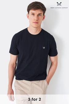 Crew Clothing Company Blue Crew Classic T-Shirt