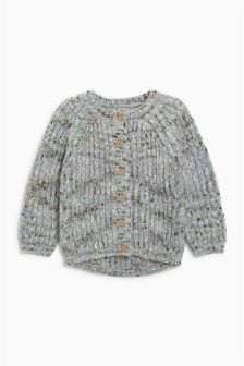 Chunky Mix Yarn Cardigan (3mths-6yrs)