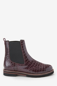 Signature Comfort Chunky Chelsea Boots