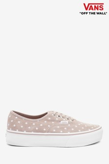 Vans Polka Dot Authentic Platform Trainers