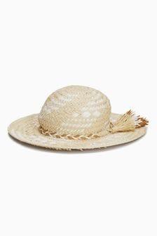 Tassel Straw Hat (Older)