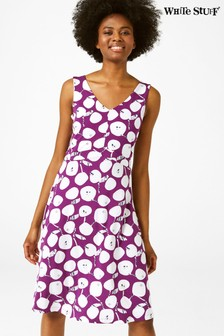 White Stuff Purple Trudy Dress