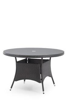 Monaco Garden Dining Table Grey