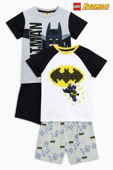 LEGO® Batman® Pyjamas Two Pack (4-10yrs)
